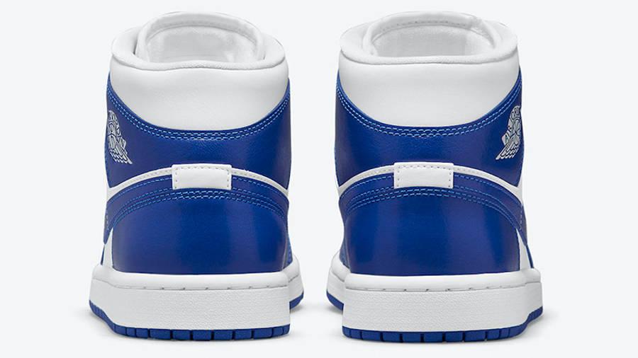 Air Jordan 1 Mid White Blue BQ6472-104 back