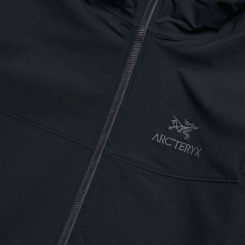 Arc'teryx Gamma LT Hoodie Black Detail