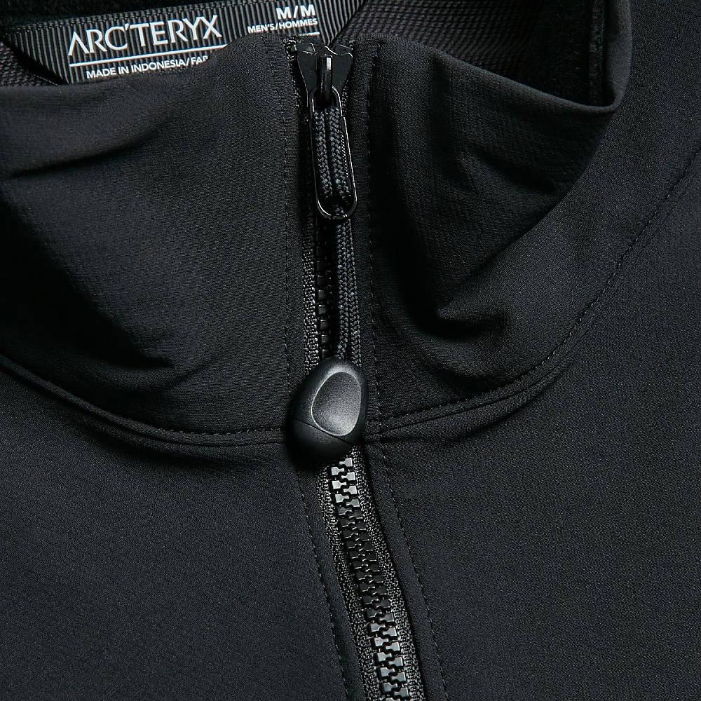 Arc'teryx Gamma LT Jacket Black Detail