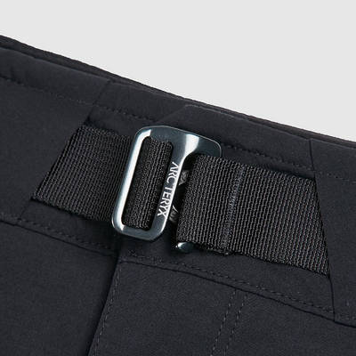 Arc'teryx Palisade Shorts Black Detail 2