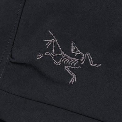 Arc'teryx Palisade Shorts Black Detail