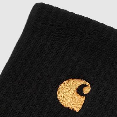 Carhartt WIP Chase Socks Black Detail