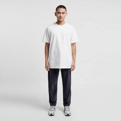 Carhartt WIP Chase T-Shirt White Full