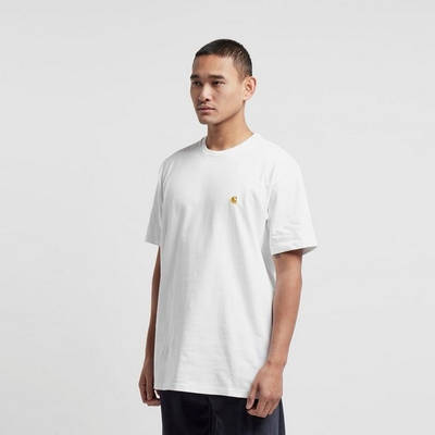 Carhartt WIP Chase T-Shirt White Side