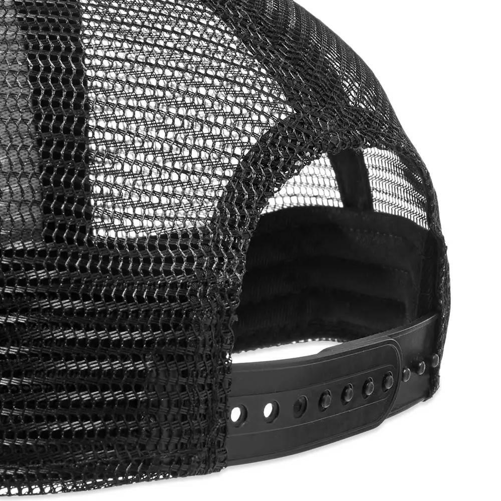 Cole Buxton Athletic Trucker Cap Black Detail