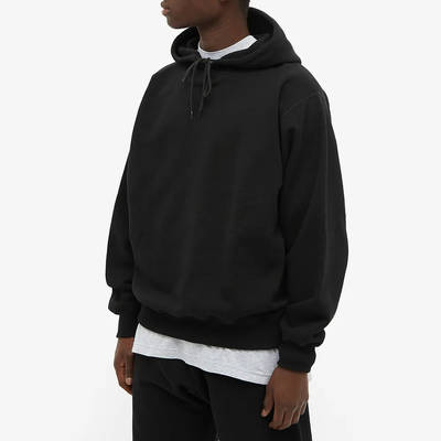 Cole Buxton Classic Warm Up Hoodie Black Front
