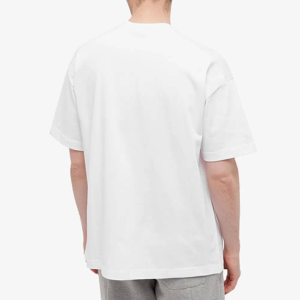 Cole Buxton International Logo T-Shirt White Back