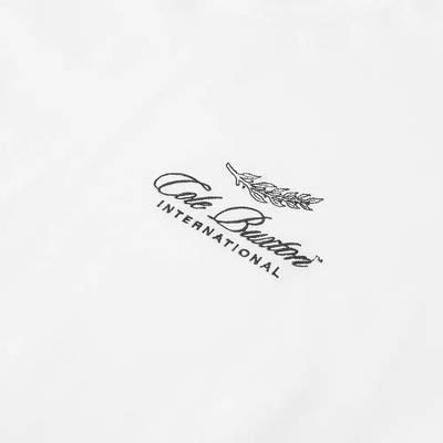 Cole Buxton International Logo T-Shirt White Detail