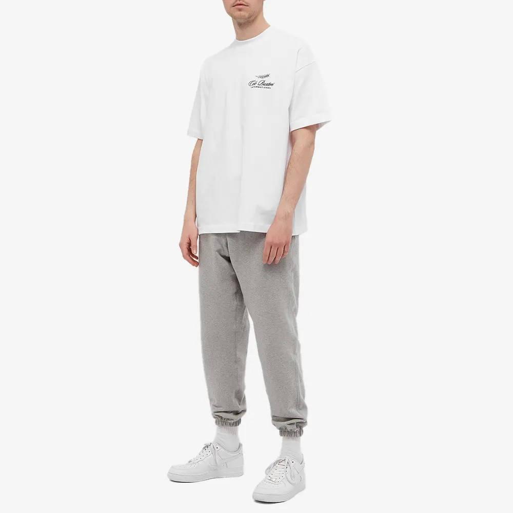 Cole Buxton International Logo T-Shirt White Full