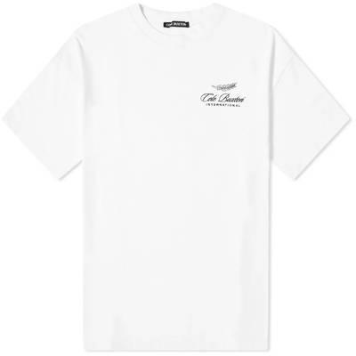 Cole Buxton International Logo T-Shirt White