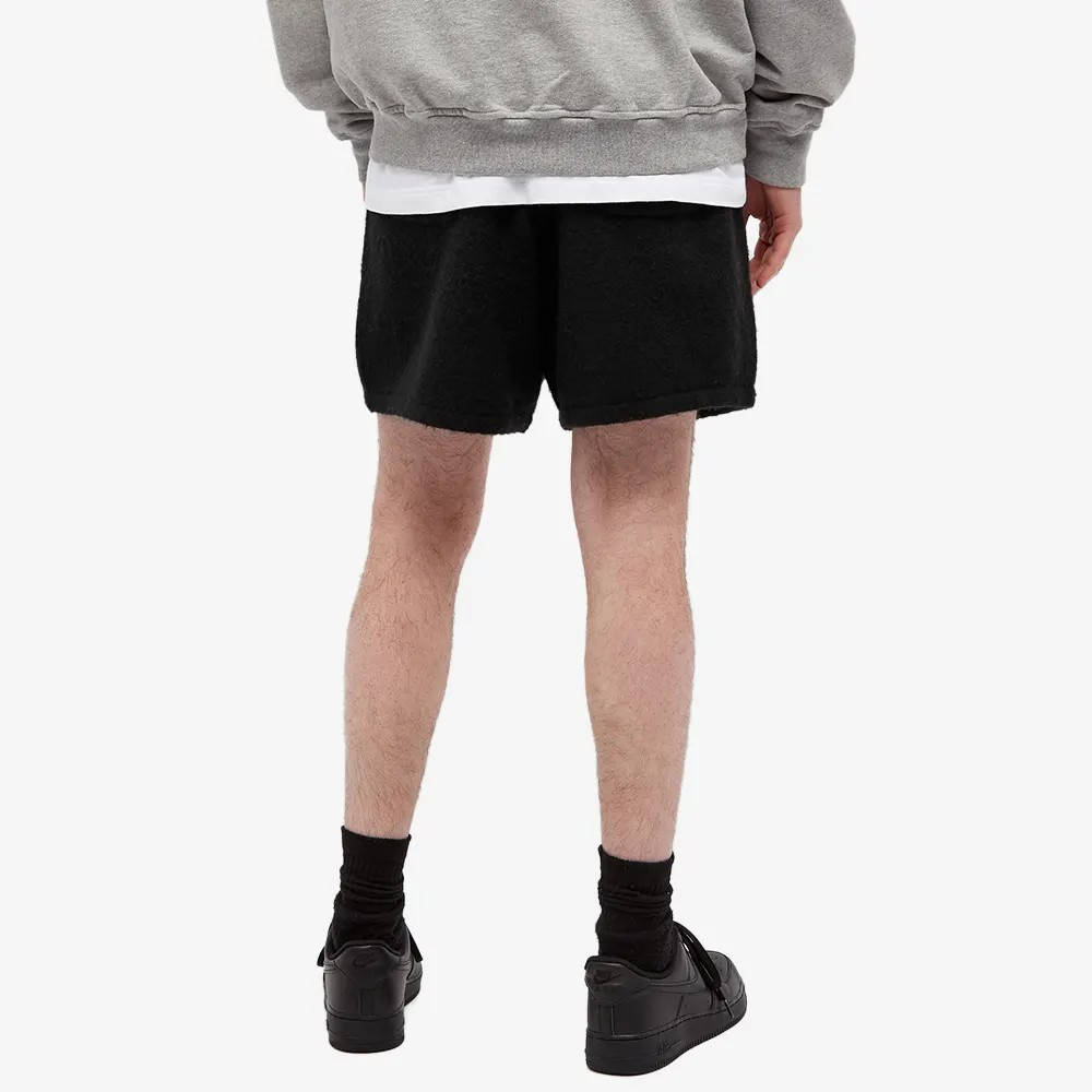 Cole Buxton Knitted Shorts Black Back