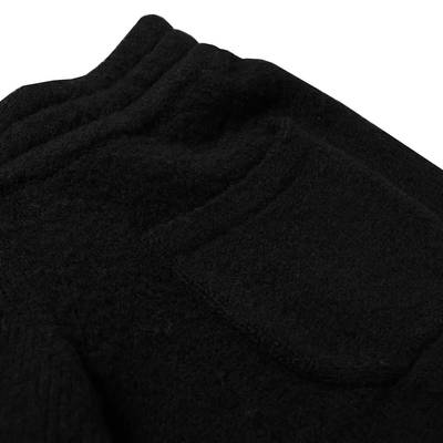 Cole Buxton Knitted Shorts Black Detail