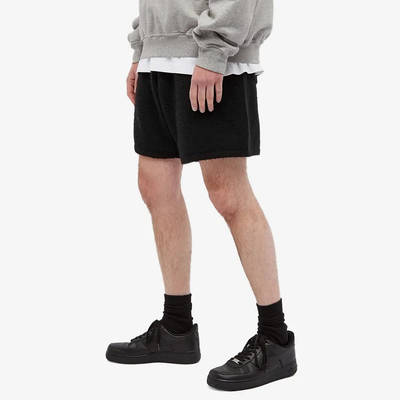 Cole Buxton Knitted Shorts Black Front