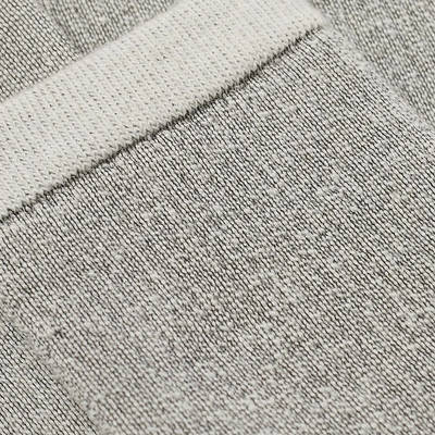Cole Buxton Wool Socks Grey Marl Detail
