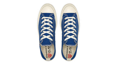 Comme des Garcons Play x Converse Chuck Taylor All Star 70 Low Blue Top