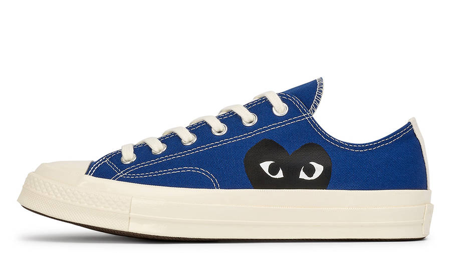 Comme des Garcons Play x Converse Chuck Taylor All Star 70 Low Blue