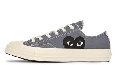 Comme des Garcons Play x Converse Chuck Taylor All Star 70 Low Grey