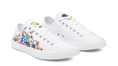 Converse Chuck Taylor All Star Pride Low White Front