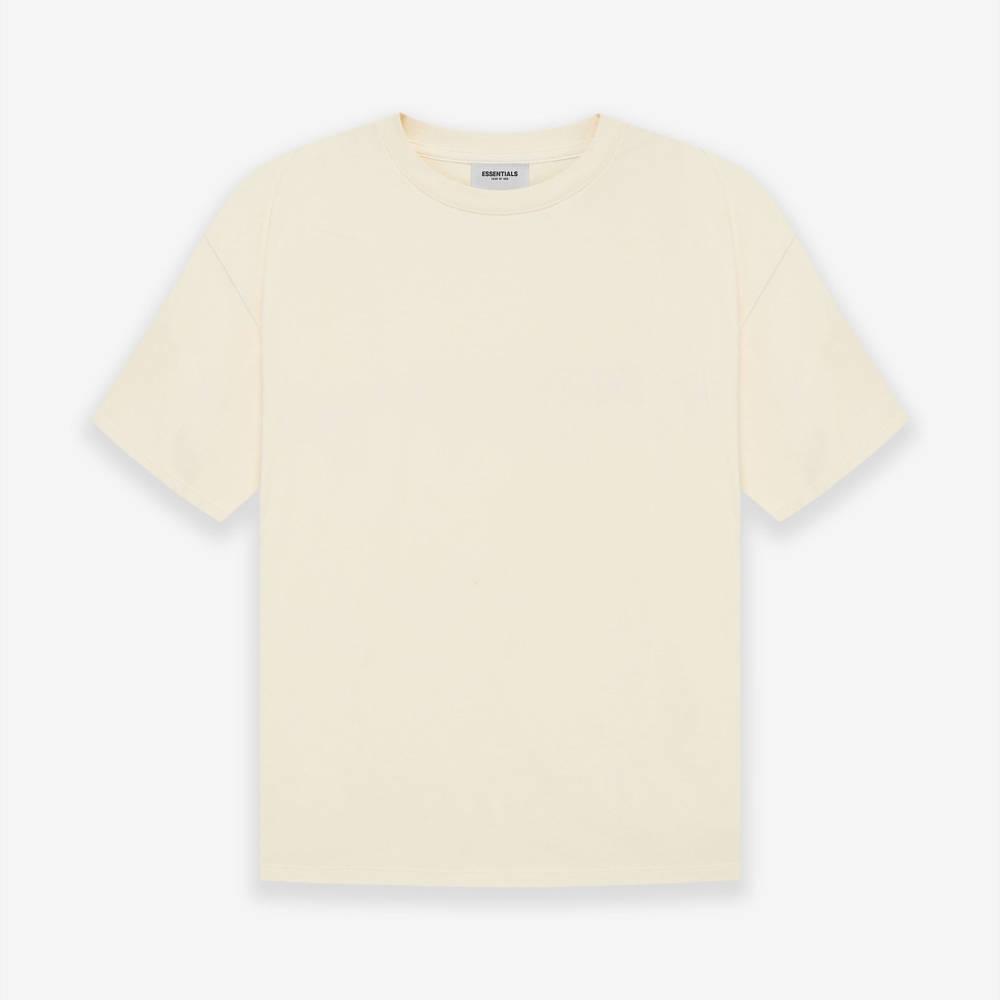 Fear of God ESSENTIALS SS21 Drop 1 Short Sleeve T-Shirt Buttercream