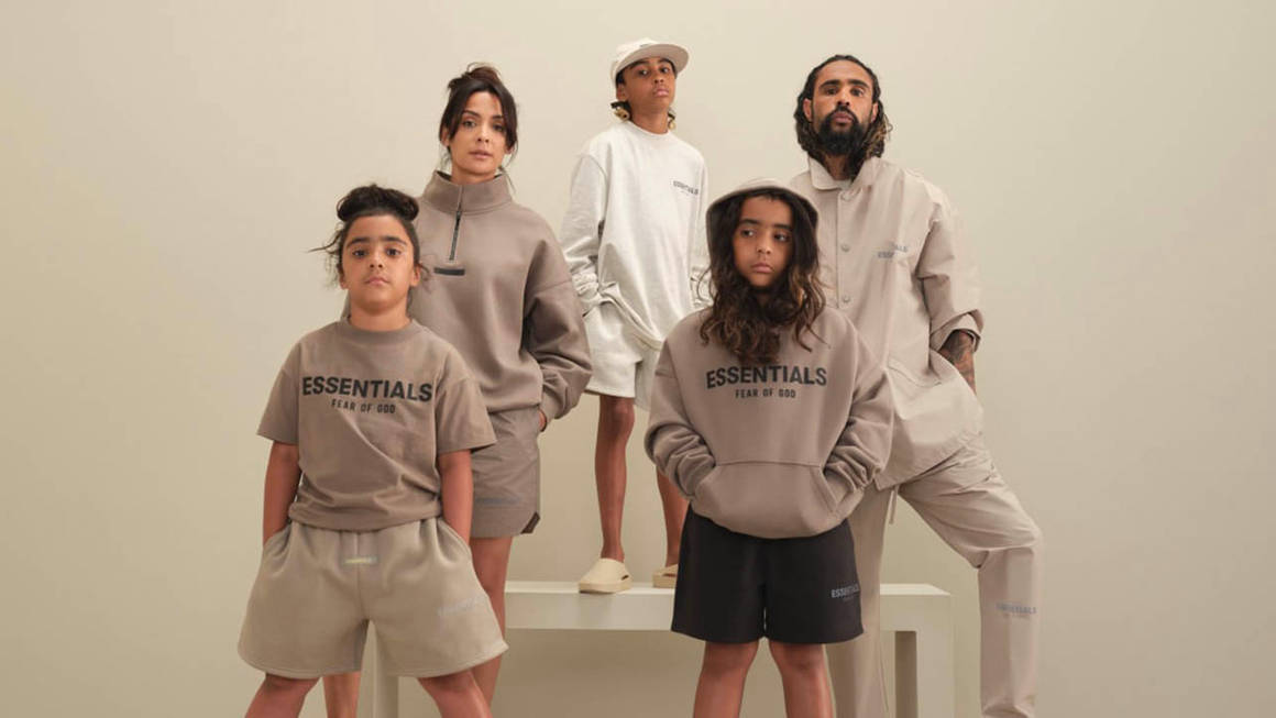 The Fear Of God ESSENTIALS Spring 2021 Collection Will Be Dropping at These UK Retailers!
