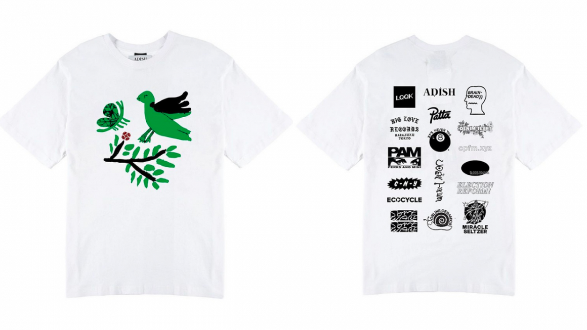 Cactus Plant Flea Market , Patta, Brain Dead & Others Join Forces for a Gaza Relief Fundraiser Tee