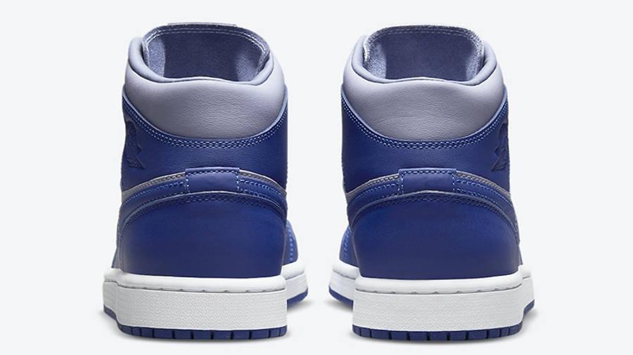 Jordan 1 Mid Grey Blue DH7821-500 Back