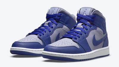 Jordan 1 Mid Grey Blue DH7821-500 Side