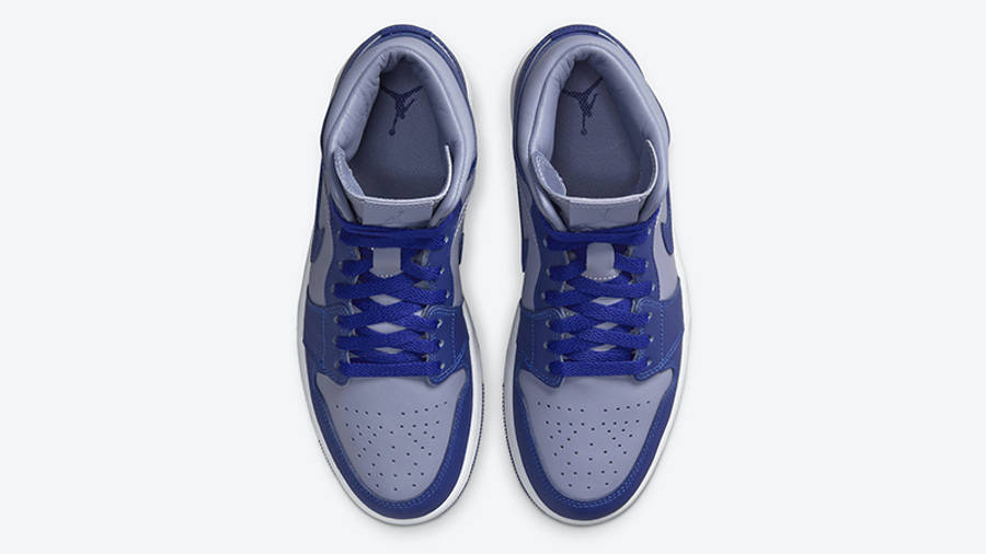 Jordan 1 Mid Grey Blue DH7821-500 Top