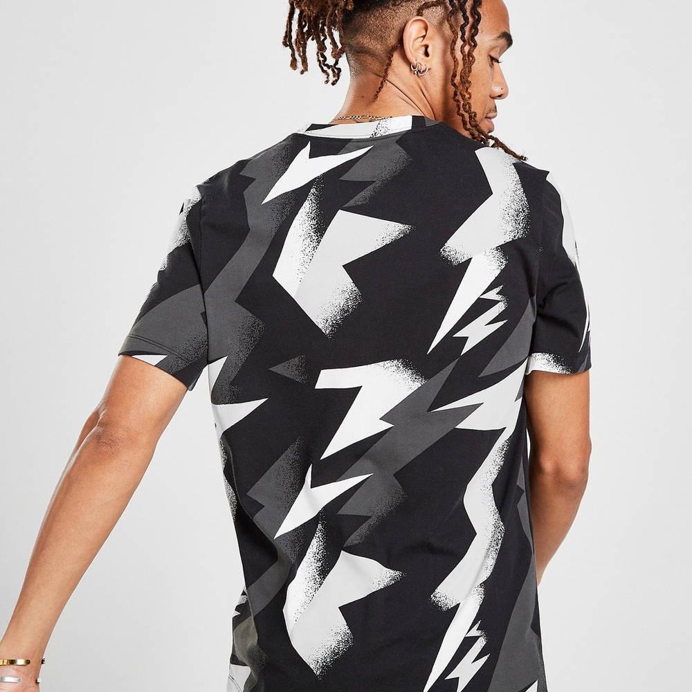 Jordan All Over Print T-Shirt Black Back