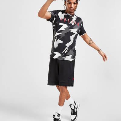 Jordan All Over Print T-Shirt Black Full
