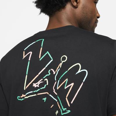 Jordan Jumpman 23 AIR Short-Sleeve T-Shirt DC4828-010 Detail 2