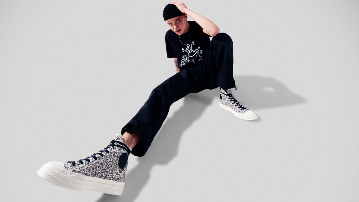 Keith Haring x Converse Channel 80s Vibes With This Collection of Sneakers and Clothing!
