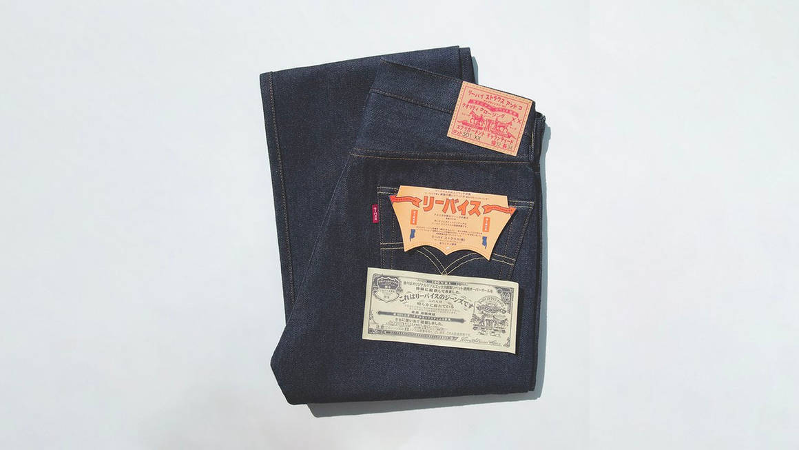 Levi's Vintage Turn Back the Clock to '55 With This 501 Day Release
