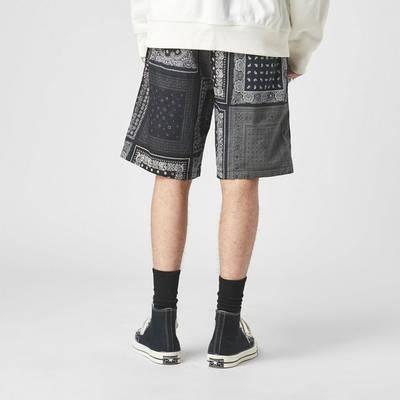 Levis Utility Shorts Back