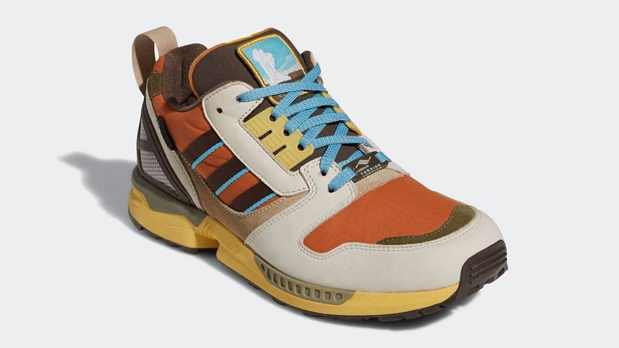 National Park Foundation x adidas ZX 8000 Yellowstone Front