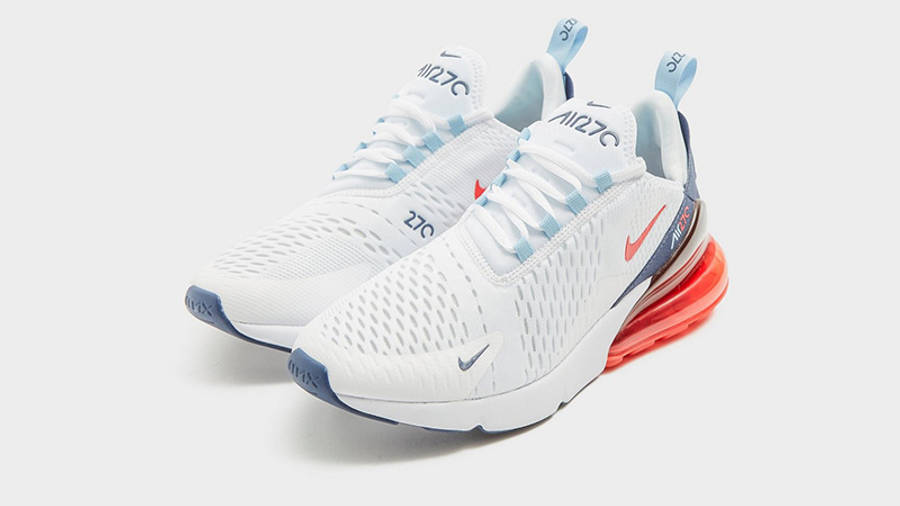 Nike Air Max 270 White Peach front