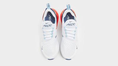 Nike Air Max 270 White Peach middle