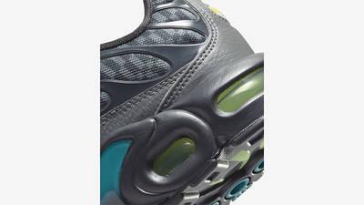 Nike Air Max Plus GS Smoke Grey Lime Glow DM3266-001 Back Detail