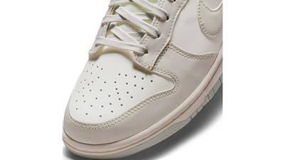 Nike Dunk Low Light Bone DD1503-107 Detail