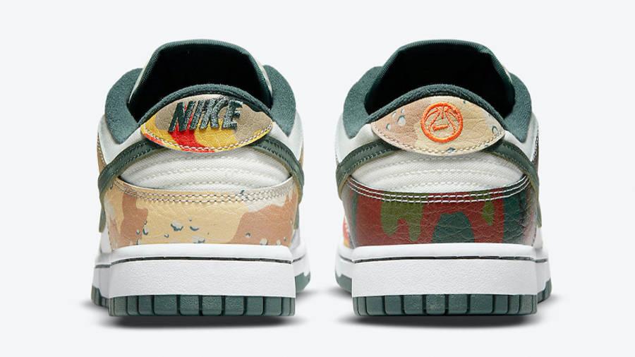 Nike Dunk Low Multi Camo Back