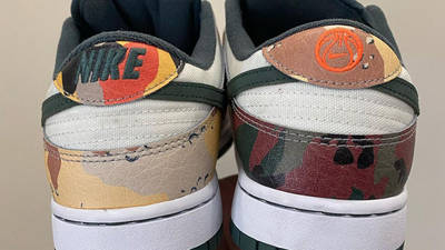 Nike Dunk Low Multi Camo First Look Back