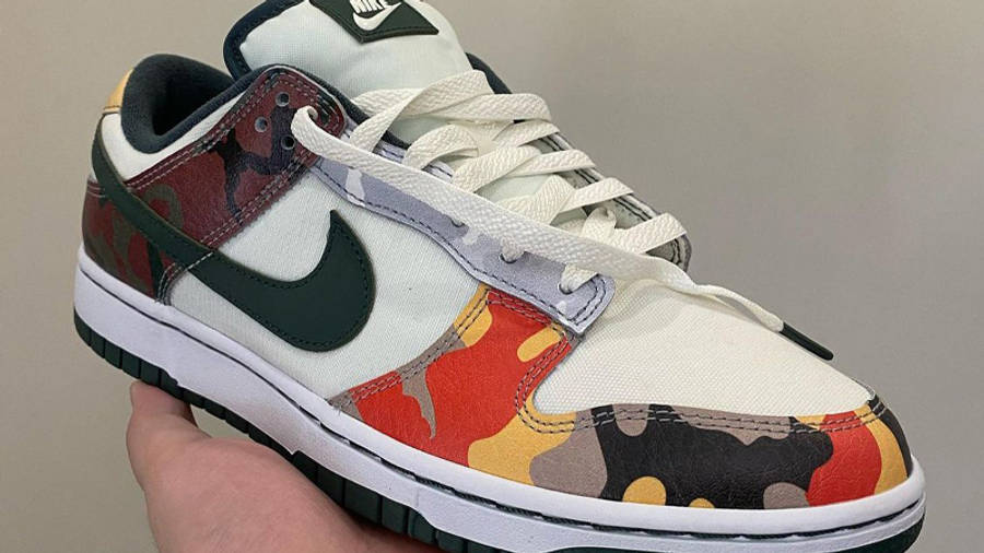 Nike Dunk Low Multi Camo First Look Front
