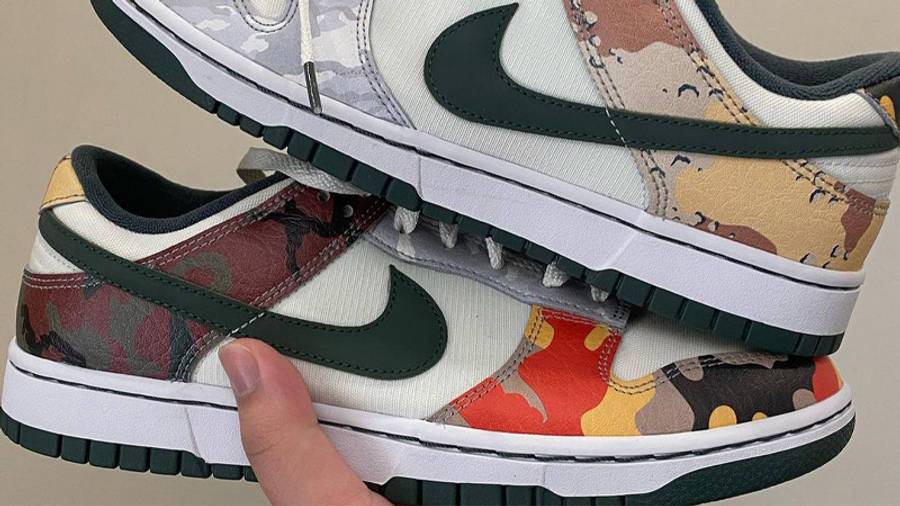 Nike Dunk Low Multi Camo First Look Side