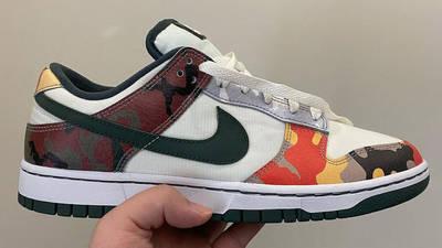 Nike Dunk Low Multi Camo First Look