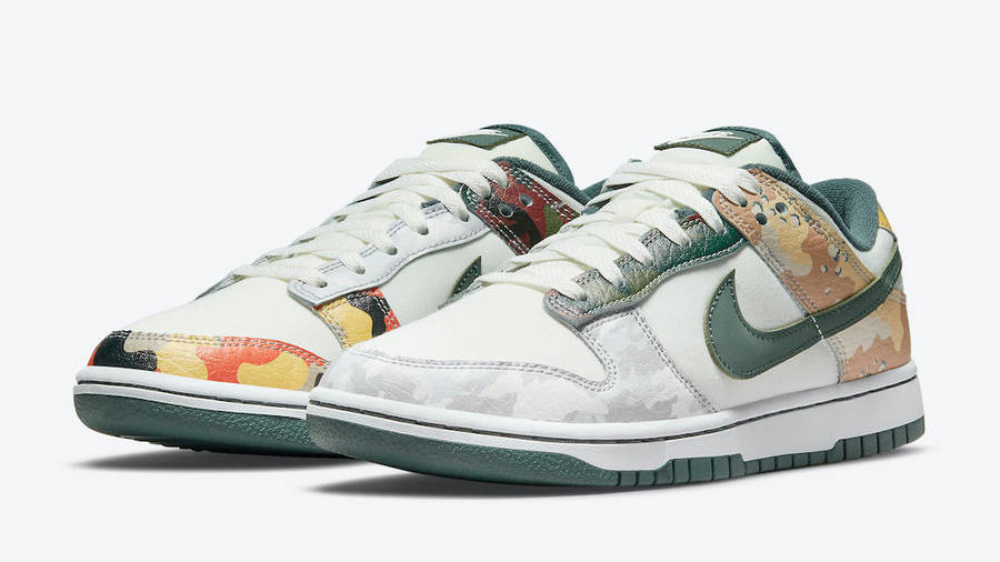 Nike Dunk Low Multi Camo Front