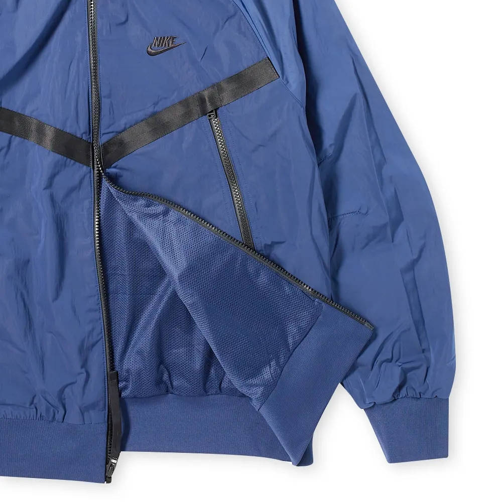 Nike Hd Windunner Jacket Midnight Navy Detail
