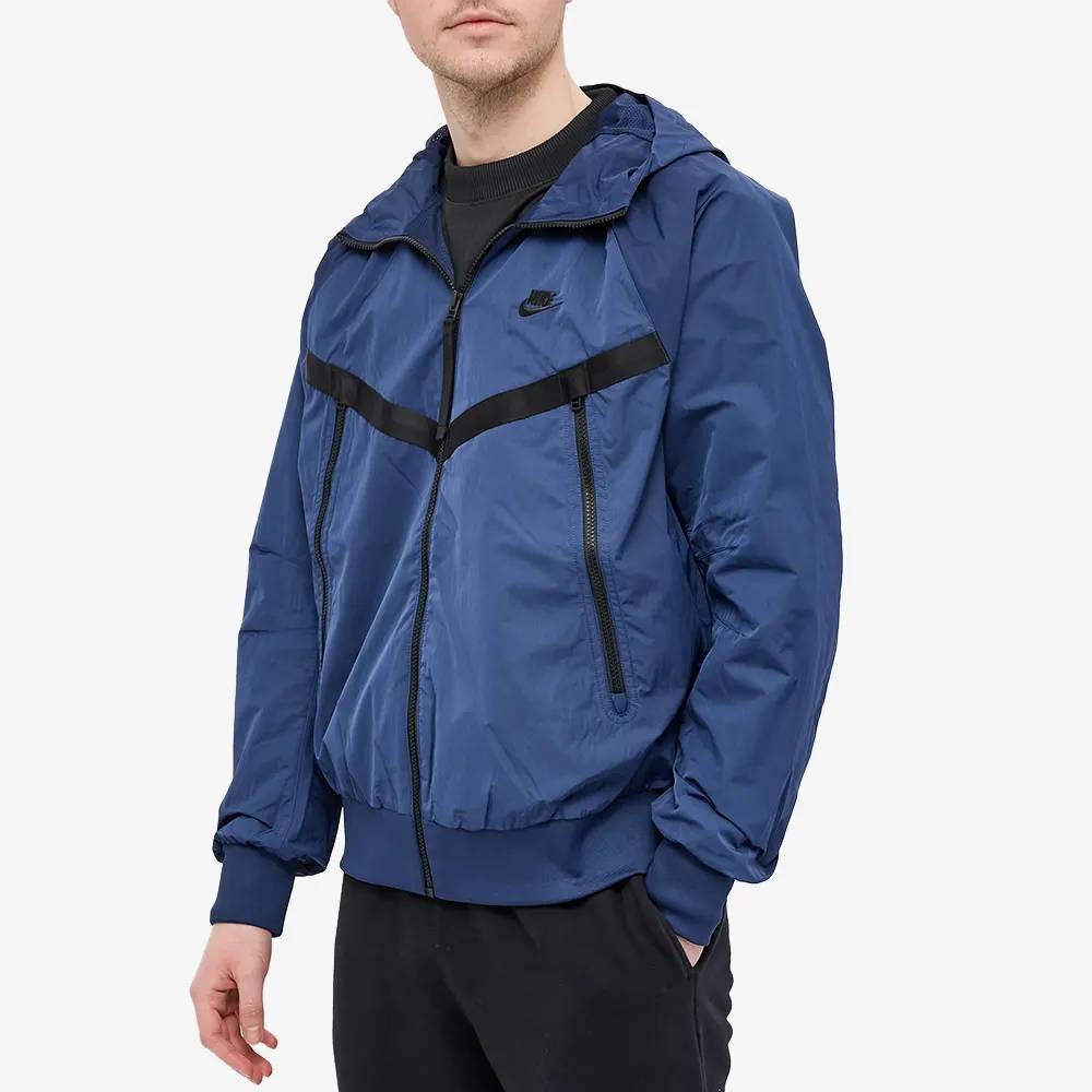 Nike Hd Windunner Jacket Midnight Navy Front