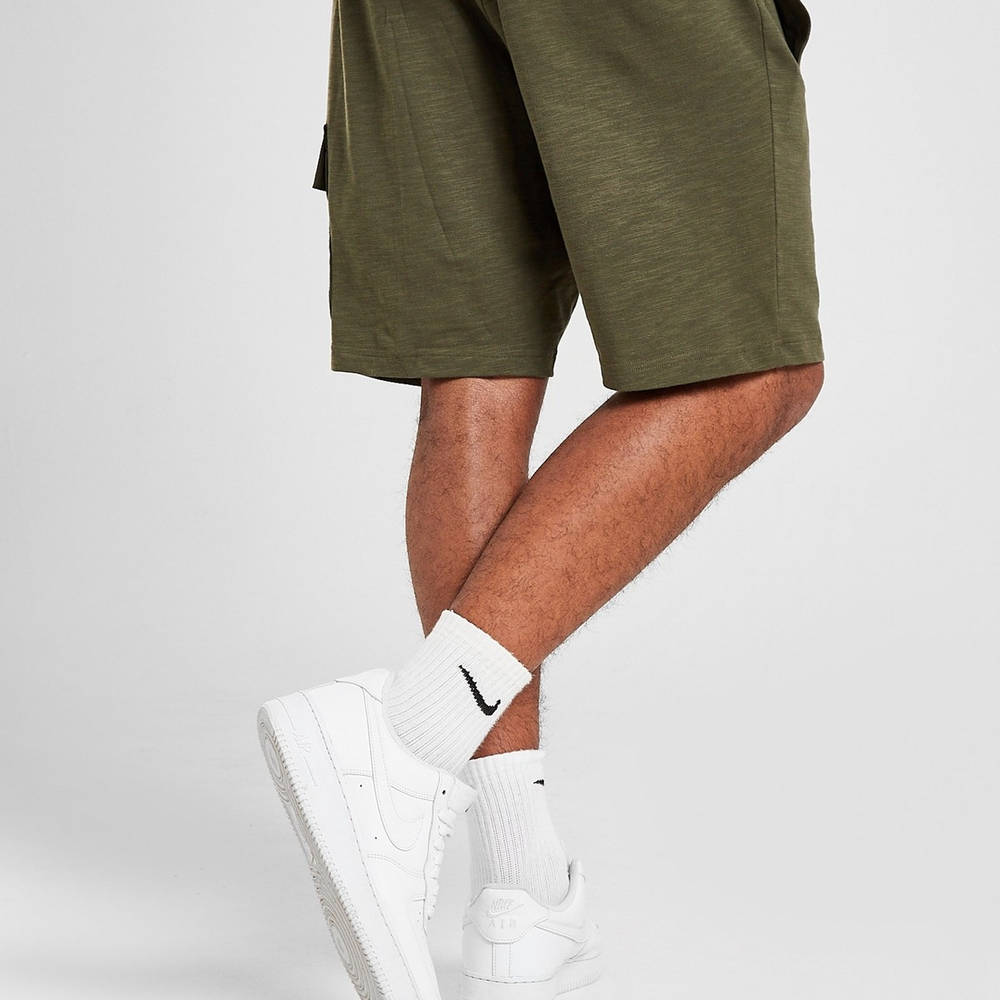 Nike Modern Lightweight Cargo Shorts Green Back