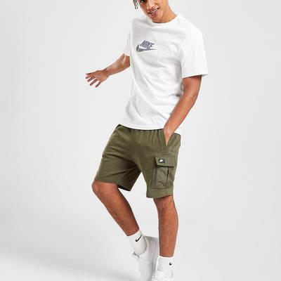 Nike Modern Lightweight Cargo Shorts Green Full 2
