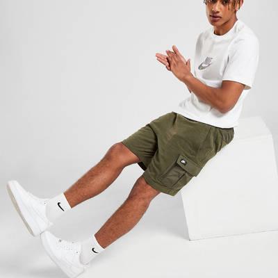 Nike Modern Lightweight Cargo Shorts Green Full